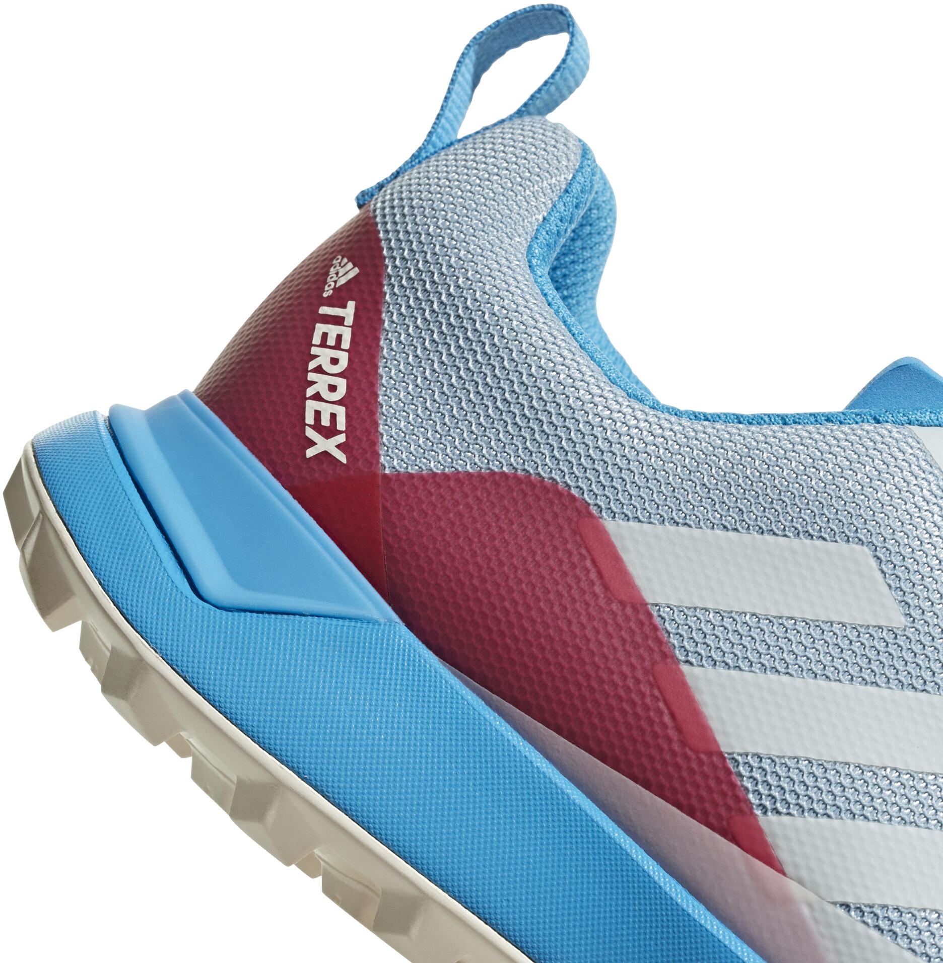 adidas TERREX CMTK Shoes Women, ash greycore whiteshock cyan